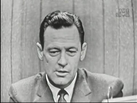 What's My Line?  June Taylor; William Holden Sep 23, 1956