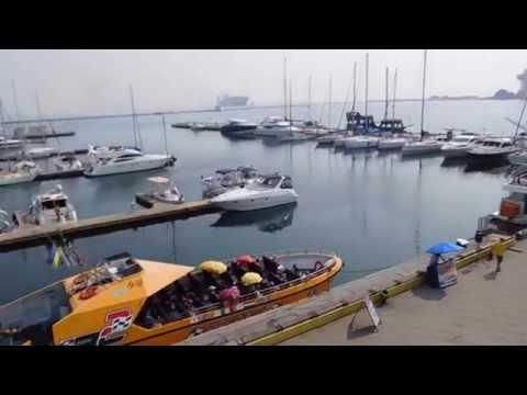 Sea port. Odessa. Морской вокзал Одесского порта.