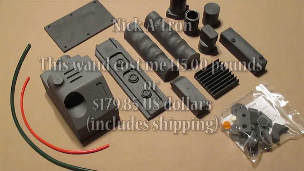 Unpacking of nick a tron wand kit 2013 youtube for Wand making kit