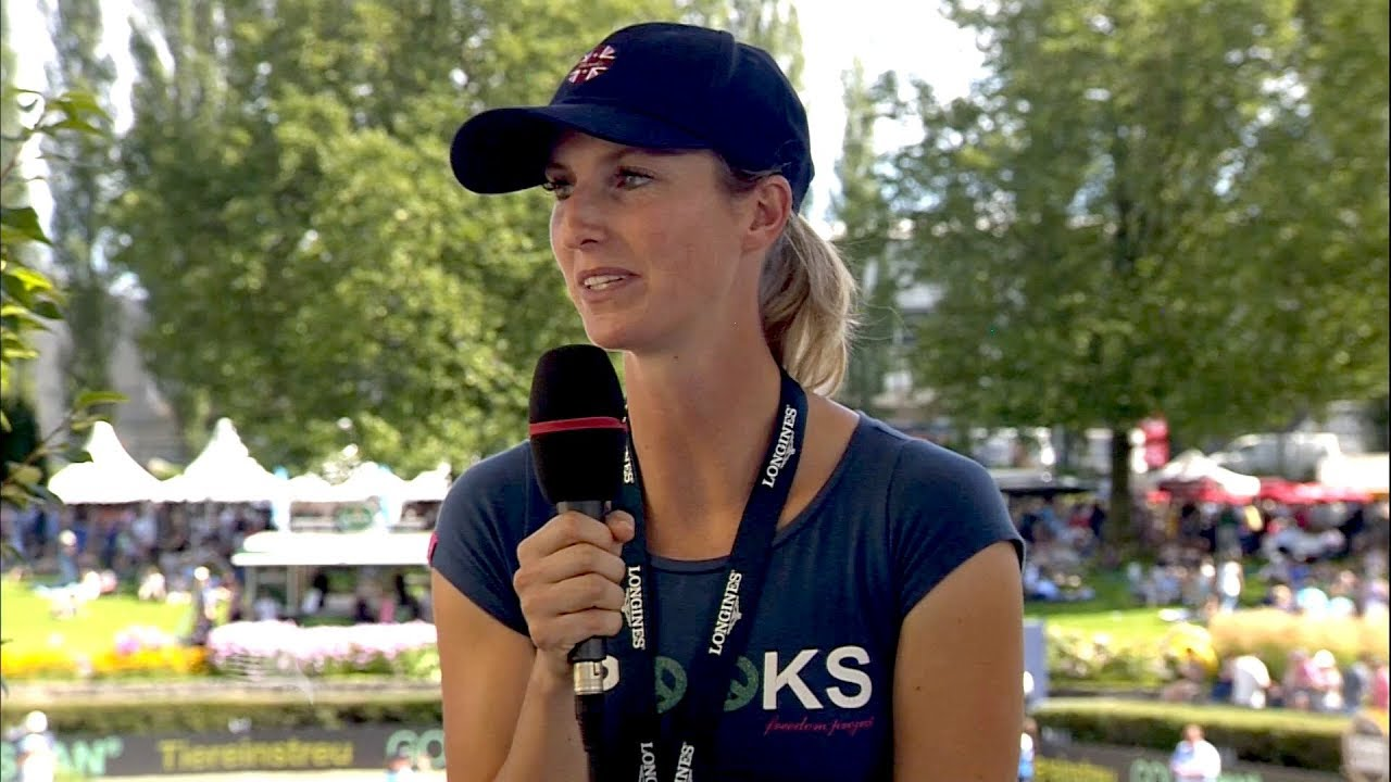 In the Studio LGCT Berlin: Simone Blum - YouTube