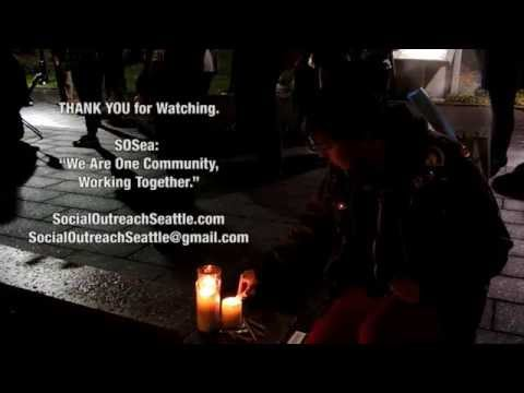 Social Outreach Seattle Transgender Day of Remembrance 2014