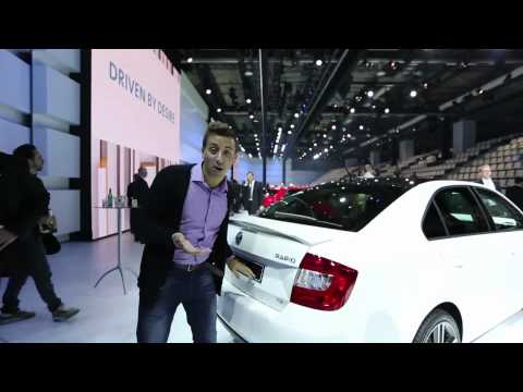 New Skoda Rapid - Which first look paris motor show 2012