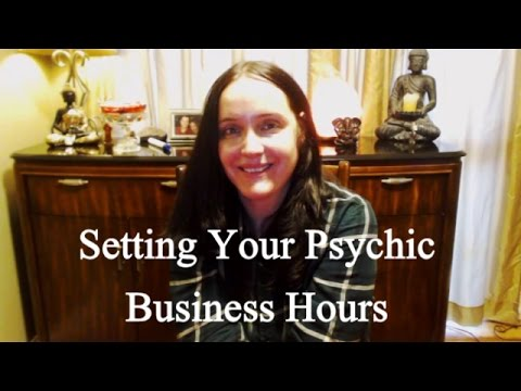 Setting Your Psychic Business Hours