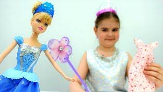 Фея помогает Золушке собраться на бал. Идеи для кукол - Мультики для девочек