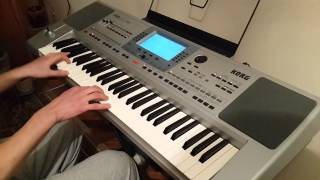 Жоно моя на синтезаторе