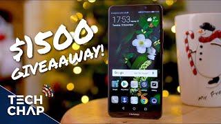 Christmas GIVEAWAY! Win £700 Huawei Mate 10 Pro! (Global) | The Tech Chap