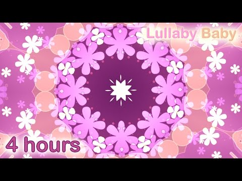 ☆ 4 HOURS ☆ WALTZ OF THE FLOWERS Nutcracker ♫ MUSIC BOX ☆ Lullaby Baby Sleep Music