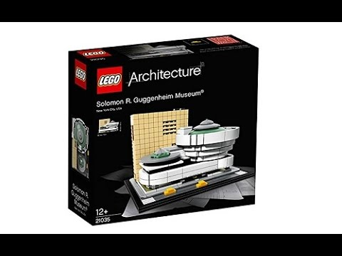 Lego News: Lego Architecture 2017 Solomon R. Guggenheim Museum set 21035 Official Images