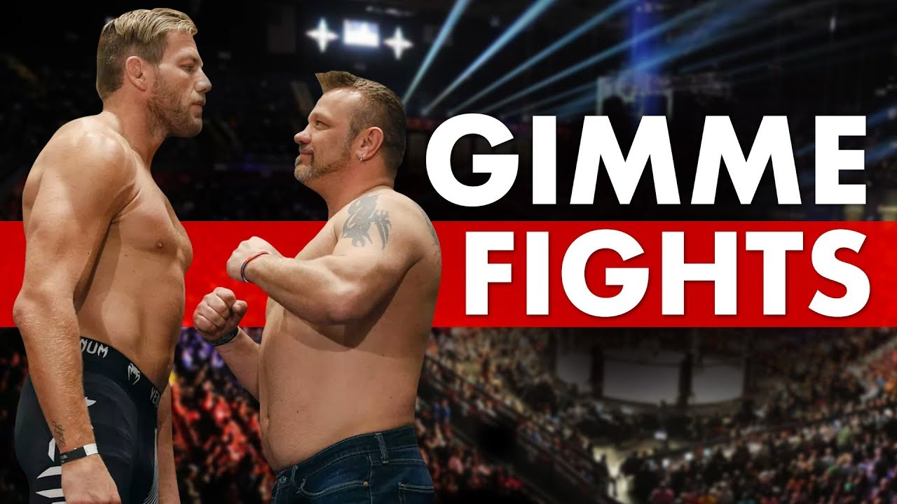 10 Huge Gimme Fights in MMA/UFC History