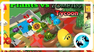 Roblox Plants vs Zombies Tycoon Ep.1