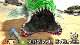 ark survival evolved giant leech tek trex taming e39 mod pugnacia dinos gameplay