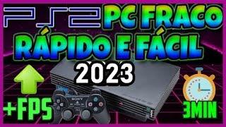 COMO JOGAR PS2 PC FRACO RÁPIDO 🎮 [3min] E FÁCIL EMULADOR CONFIGURADO 2018 [pcsx2]