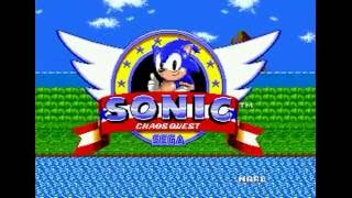 Sonic Chaos Quest (Genesis) - Longplay