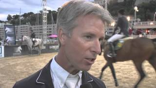 Longines Global Champions Tour 2013 - Monte Carlo - Richard Spooner interview (winner CSI 5* 1.45m)