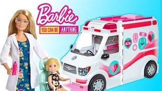 Barbie  Karetka mobilna do zadań specjalnych  Toys Land