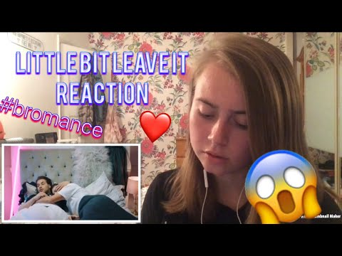 REACTION LITTLE BIT LEAVE IT [chris and kem] 😱