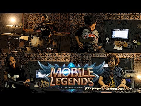 Mobile Legend Soundtrack Menu Music Rock Cover by Sanca Records
