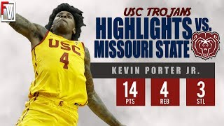 Kevin Porter Jr.  USC vs Mo State - Highlights | 11.20.18 |  14 Pts, 3 Steals