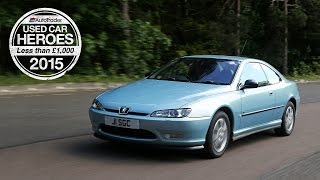 Used Car Heroes: Under £1,000 - Peugeot 406 Coupe