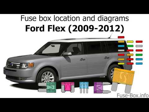 fuse box location and diagrams ford flex (2009 2012) youtube Ford 3.5L Engine