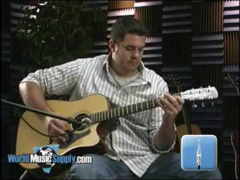 Alvarez RD20SC Acoustic Guitar Demo