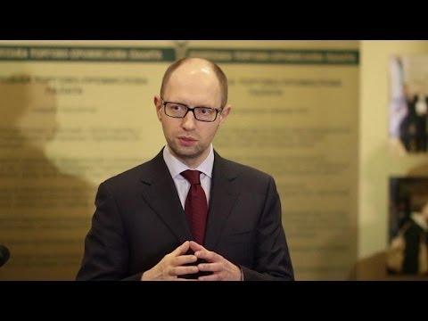 Le Premier ministre ukrainien en visite dans l'est russophone
