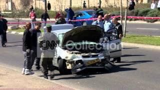 JERUSALEM BORDER POLICE ATTACK SMASHED CAR