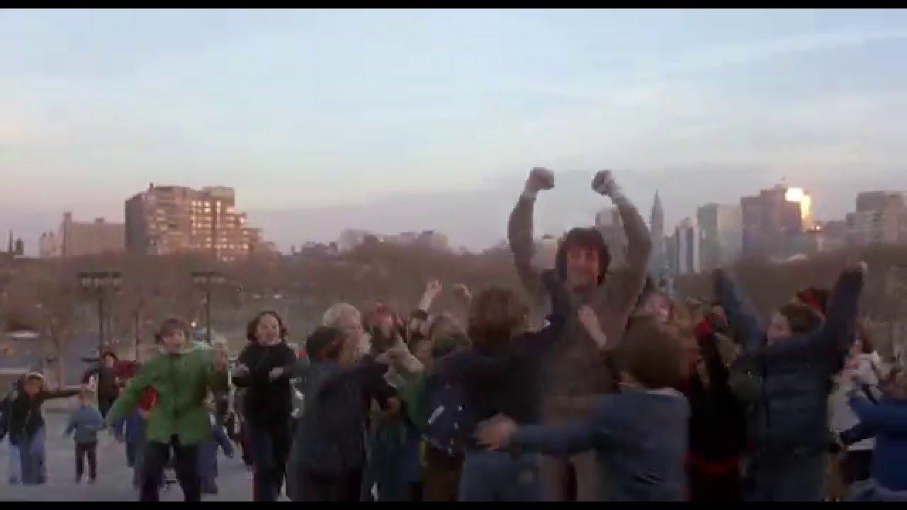 Rocky Ii 1979 Running Steps Scene