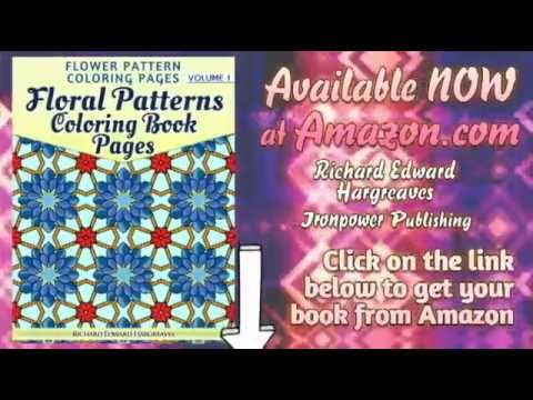 Floral Patterns Coloring Book Pages