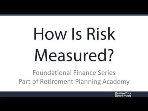 How Is Investment Risk Measured?