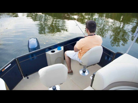 Crest Fishing Pontoon