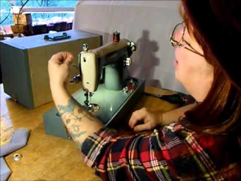 Wizard Sewing Machine Demonstration/Final test Video