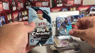 Opening the September 2018 Baseball Card Crate with a few Add-On Packs!