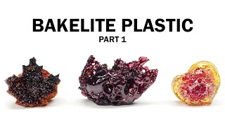 Making Bakelite Plastic