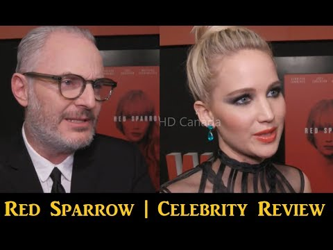 Red Sparrow : Celebrity Review | Jennifer Lawrence | Francis Lawrence | Movie Review