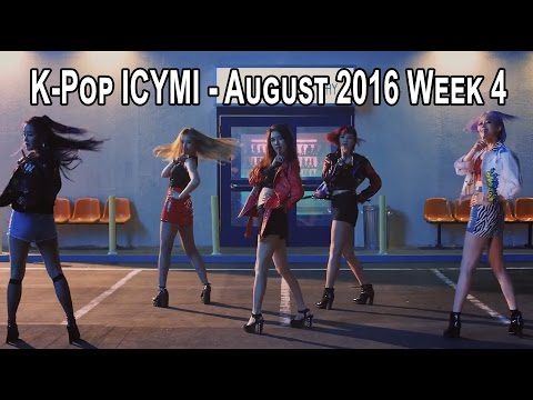 K-Pop New Releases - August 2016 Week 4 - K-Pop ICYMI