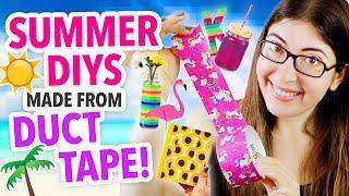 Easy Summer Duct Tape Diys
