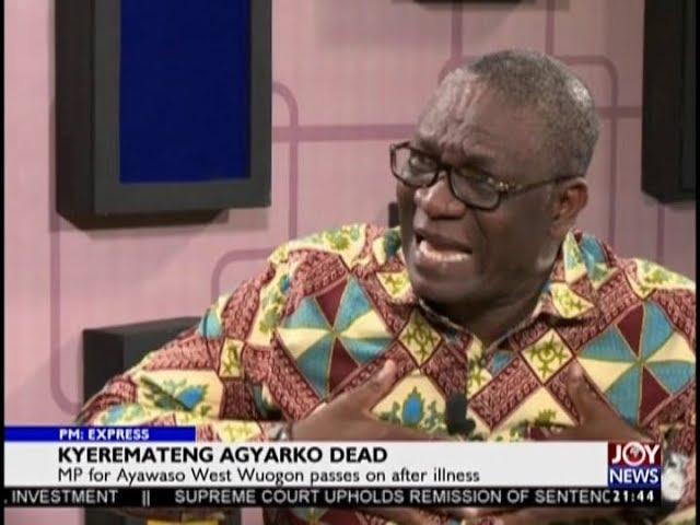 Breaking News; Hon. Emmanuel Kyeremateng Agyarko Dead - MP for Ayawaso West Wuogon (21-11-18)