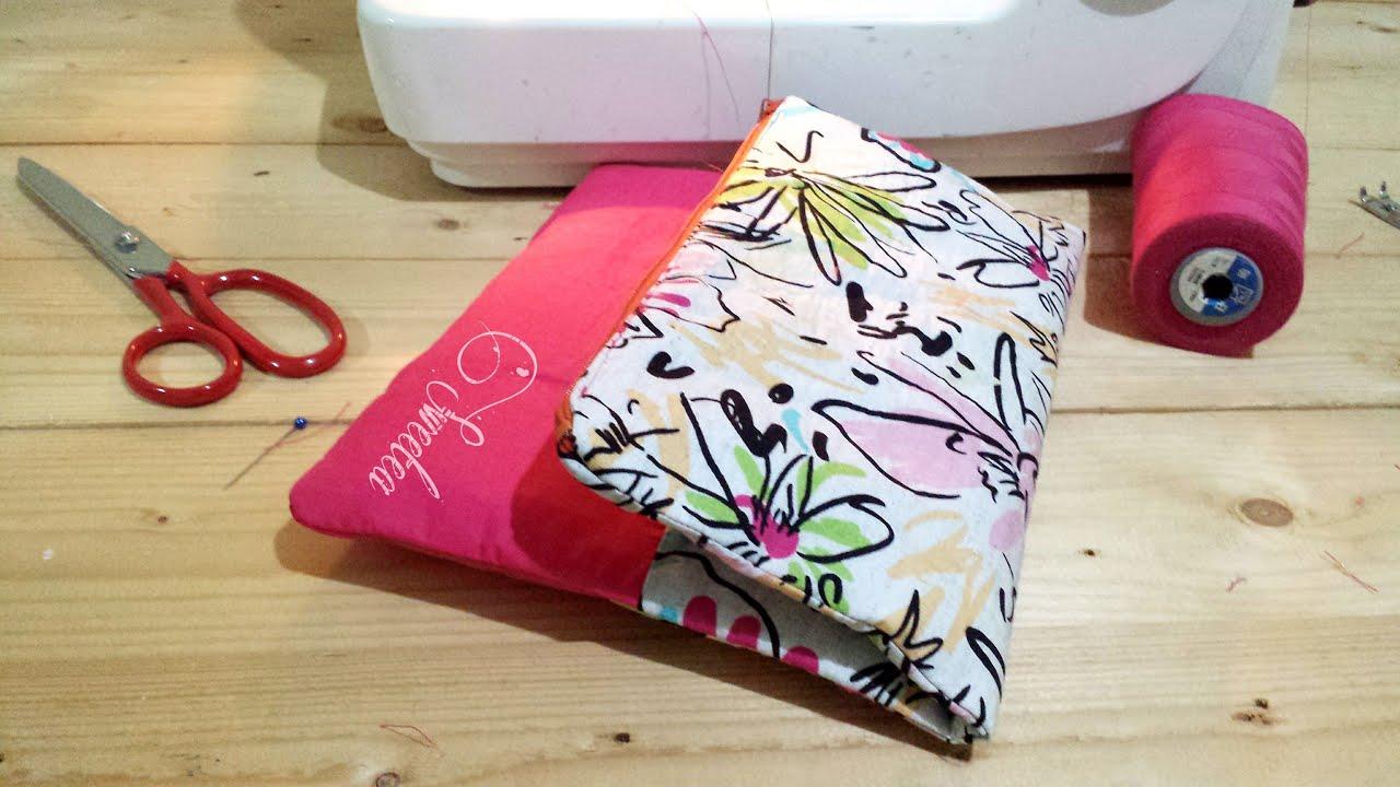 DIY Clutch Bag (Full Video) - YouTube