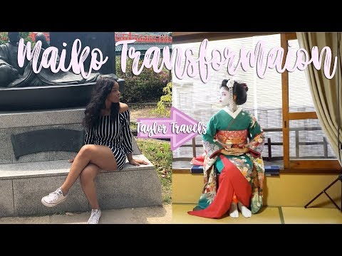 Can Black Girls Become Maikos(Geishas)? | Flight Attendant Life | Maiko Experience Kyoto