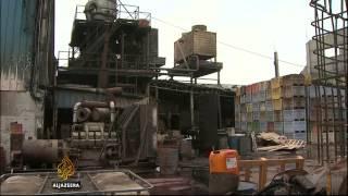 Israel blockade cripples Gaza