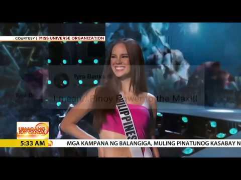 UKG: Kapamilya celebrities ginaya ang lava walk ni Catriona Gray