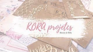 Kora Projects. Cómo elegir papeles de Scrap en función del proyecto. Adornos.