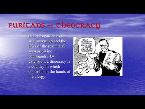 Colonialism/Puritanism
