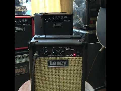 LANEY AMP LA10 ACOUSTIC - SOUND TEST indonesia