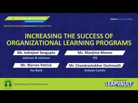 CLO Chief Learning Officers Summit India 2016 Warren Patrick