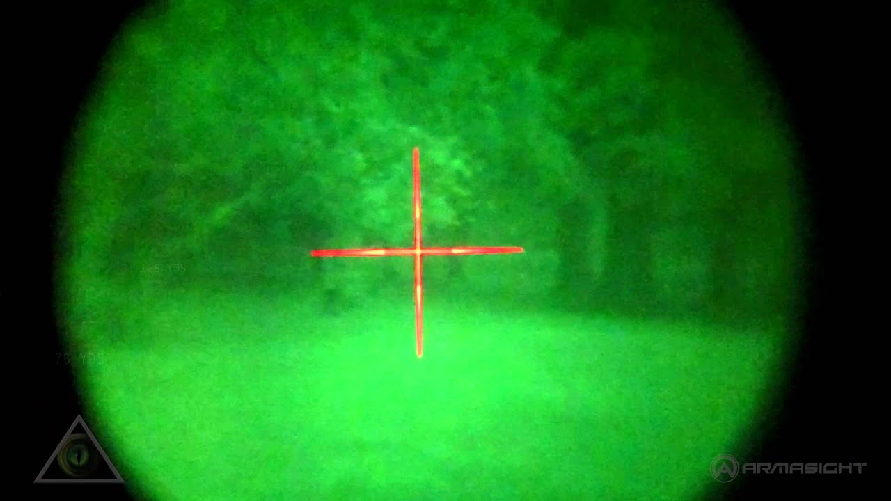 armasight orion 4x night vision rifle scope with ir 810 nwworion0411i11 youtube