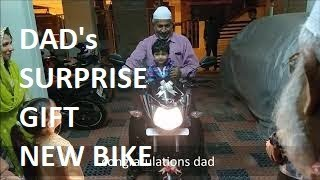 Surprise Gift For Dad From Son's