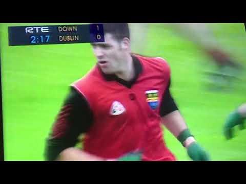 Down Scores All Ireland Final 1994 Point 1 Greg McCartan
