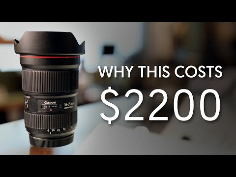Why It's Expensive - $2200 For A Wide Angle Zoom? - Canon 16-35mm F2.8 III (Ep. 7)